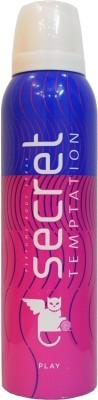 Secret Temptation Play Deodorant Spray  -  For Women