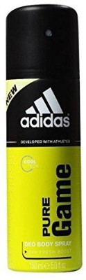Adidas Green Woody Fragrance Deodorant Spray - For Men(150 ml)