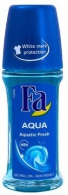 Fa Aqua Aquatic Fresh Deodorant Roll-on  -  For Boys, Girls
