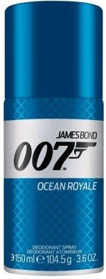 James Bond 007 Ocean Royale Deodorant Spray  -  For Men
