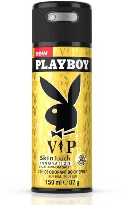 Playboy Play It Wild Deodorant Spray - For Men