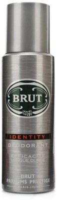 Brut Identity Deodorant Spray - For Boys, Men(199 ml)