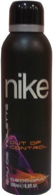 Nike Out of Control Deodorant Spray - For Men