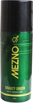 Mezno Gravity Green Deodorant Spray  -  For Men