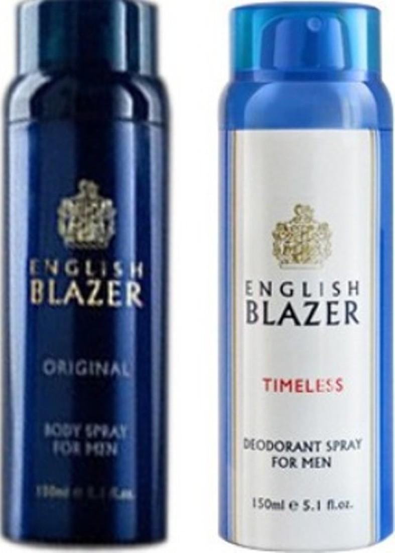 english blazer timeless and original Deodorant Spray  -  For Boys