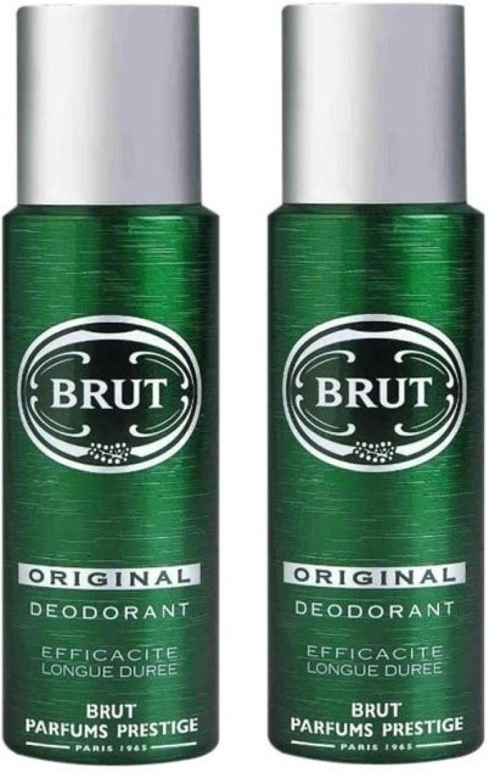 Brut 2 Original Deodorant Spray  -  For Men & Women(400 ml)