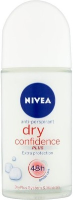 Nivea Dry Confidence plus Anti Perspirant (Imported) Deodorant Roll-on  -  For Boys, Men, Girls, Women