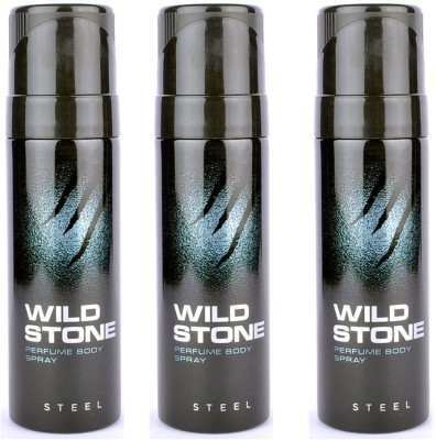 Wild Stone Steel Body Spray  -  For Men(360 ml)