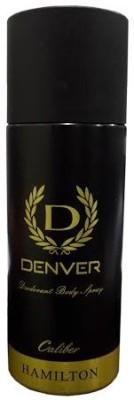 Denver Hamilton Caliber Body Deodorant Spray - For Men(165 ml)