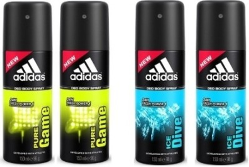 Adidas pure game ice dive Deodorant Spray  -  For Men(600 ml)