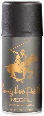 Beverly Hills Polo Club Regal Deodorant Spray  -  For Men