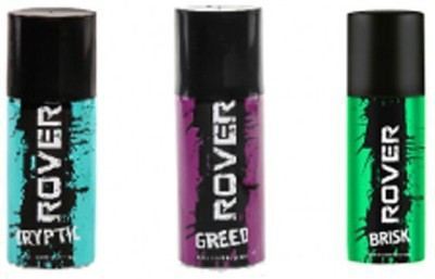 Rover Cryptic Greed and Brisk Body Spray  -  For Boys, Men