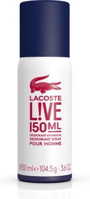 Lacoste Live Deodorant Spray  -  For Boys, Men