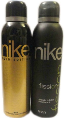 Nike Gold Edition Fission Body Spray  -  For Men
