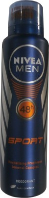 Nivea Sport Deodorant Spray - For Men