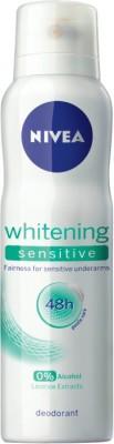 Nivea Whitening Sensitive Deodorant Spray  -  For Women(150 ml)