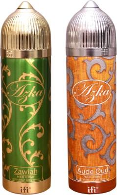 AZKA 1 ZAWIAH::1 AUDE OUD Deodorant Spray  -  For Men, Women