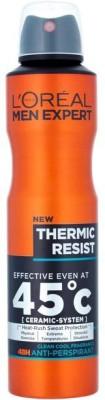 L,Oreal Paris Paris Men Expert Clean Cool Fragrance -Thermic Resist Deodorant Spray  -  For Men