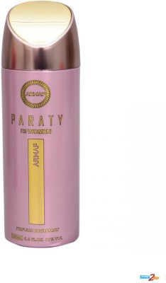 Armaf Paraty Deodorants Body Spray  -  For Women