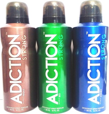 Adiction Rio Vegas Sydney Deodorant Spray  -  For Boys