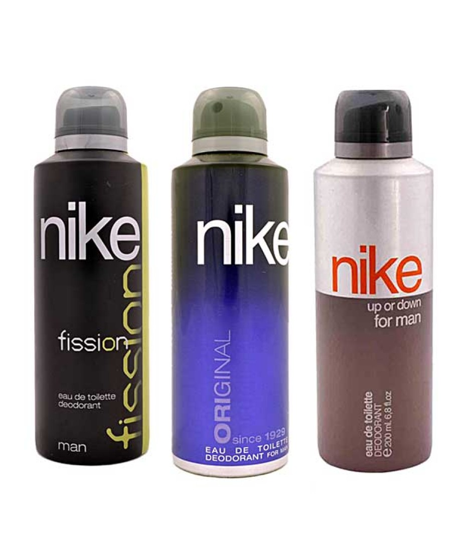 Nike Fission Original Up or Down Body Spray  -  For Men