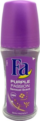Fa Purple Passion Sensual Scent 48h Deodorant Roll-on  -  For Women