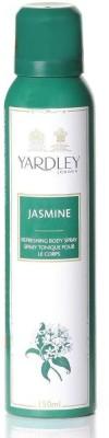 Yardley London Jasmine Body Spray  -  For Girls, Women