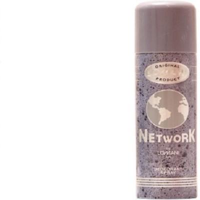 Lomani Network Deodorant Spray  -  For Boys, Girls, Women, Men