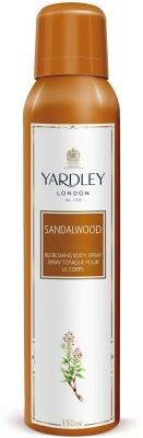 Yardley London Sandalwood Body Spray  -  For Girls, Women