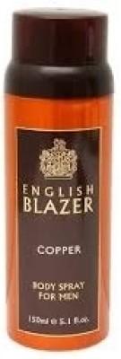 English Blazer English Blazer Copper Body Deodorant Spray  -