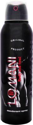Lomani Body & Soul Deodorant Spray  -  For Men