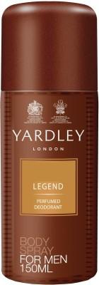 Yardley London Legend Deodorant Spray  -  For Men