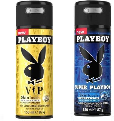 Playboy Vip, Super Body Spray - For Men(150 ml)