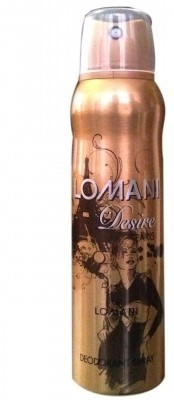Lomani Desire Deodorant Spray  -  For Women