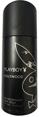 Play Boy 2251452-PLAYBOY Hollywood Man Deo 150ml(2251452) Body Spray - For Men(150 ml)