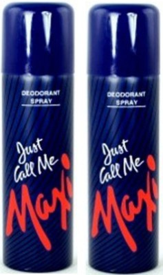 Maxi Just Call Me - For Women (Pack of 2) Deodorant Spray  -  For Women