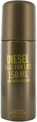 Diesel Fuel For Life Deodorant Spray  -  For Boys