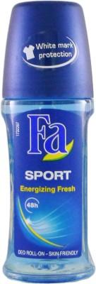 Fa Sport Energizing Fresh Deodorant Roll-on  -  For Men(49 ml) at flipkart