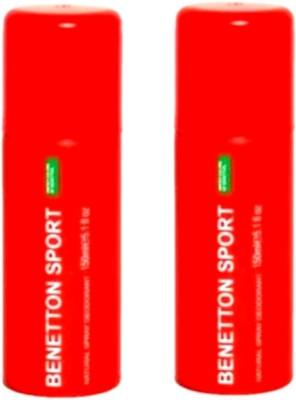 United Colors of Benetton Sport Deodorant Spray - for women Deodorant Spray - For Women(400 ml)