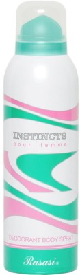 Rasasi Instincts Deodorant Spray  -  For Women