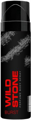Wild Stone Burst Perfumed No Gas Body Spray 120ml Body Spray  -  For Men