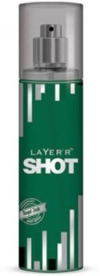 LAYERR SHOT ROYAL JADE Body Spray - For Boys(135 ml)