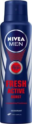 Nivea fresh active burst Body Spray - For Men(150 ml)