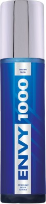 ENVY 1000 Crystal Miami Rush 135 Ml Deodorant Spray - For Men