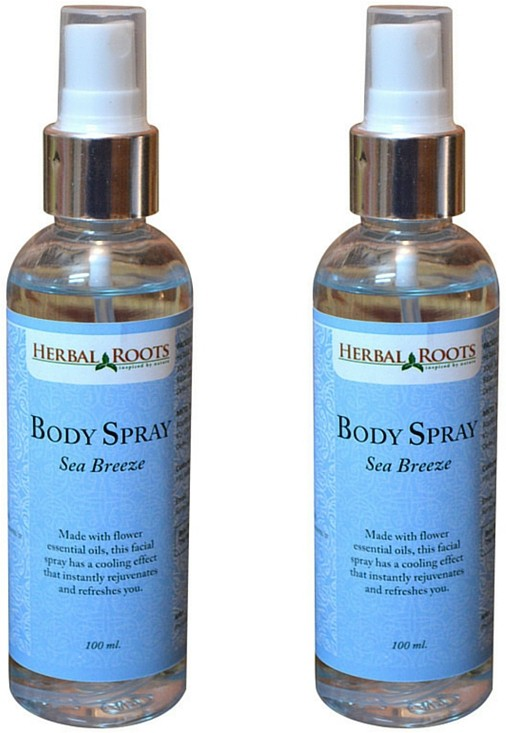 Herbal Roots Sea Breeze Body Mist  -  For Men(200 ml)