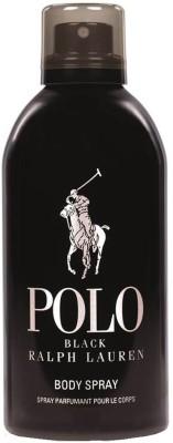 Ralph Lauren POLO Black Deodorant Spray  -  For Men(299 ml) at flipkart