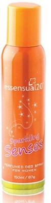 Modicare Essensual Sparkling Senses Body spray Deodorant Spray  -  For Women, Girls