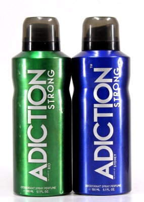Adiction Rio & Sydney Deodorant Spray - For Boys, Men(300 ml)