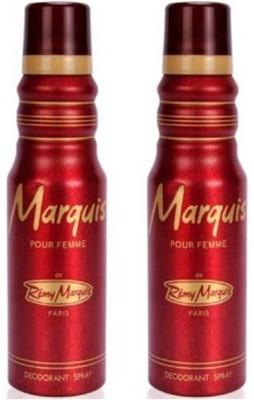 Remy Marquis Pour Femme Deodorant Spray  -  For Women