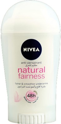 Nivea Natural Fairness & smooth undrarms Antiperspirant 48 H Deodorant Roll-on  -  For Men, Boys, Girls, Women